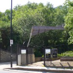 No 1 Drayton Pk Gate from Arsenal tube