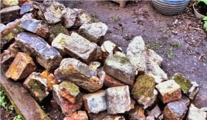 Row 1 No 1 old Vic Bricks for wall