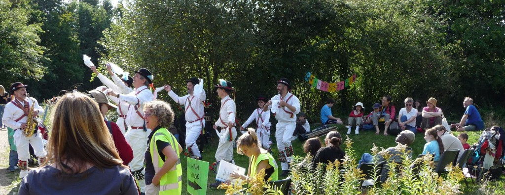 Row 2 No 2 Gillespie Fest- Morris dancers in sunshine