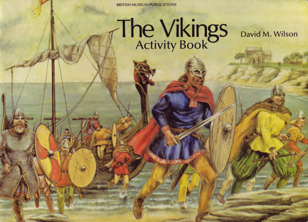THE VIKINGS ACTIVITY BOOK COVER