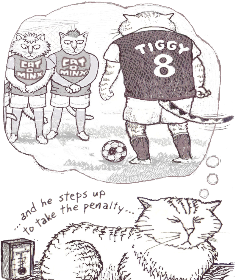 Tiggie's Penalty Daydream...